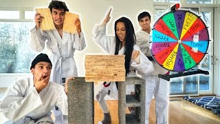 INSANE KARATE CHOP CHALLENGE!