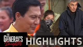 Marcial and Rhian plant the CCTV camera inside Tiago's house | The General's Daughter