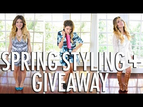 Spring Style Faves + Giveaway
