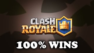 Clash Royale | How to Win 100% Ladder Matches