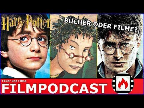 HARRY POTTER: Bücher oder Filme? | Ein magischer Feuer und Filme Podcast