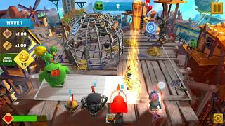 Angry Birds Evolution: Major Pecker's Daily Challenge