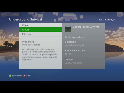 MineCraft Xbox360 - Descargar y Compartir Mapas