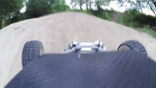 RC Car FG 1:5 1:6 Buggy 4WD Test in der Sandgrube onboard