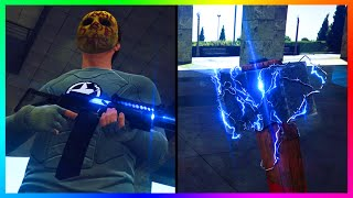 AMAZING GTA Online Gun Customization DLC Concept W/ 7 New Weapons, Custom Weapon Shop & MORE!