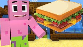 Minecraft : Spongebob Episode 11 - PATRICK'S SANDWICH (Minecraft Roleplay)