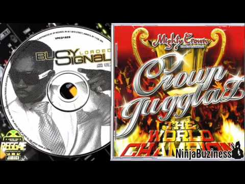 "BUSY SIGNAL ""MIGHTY CROWN"" DUB PLATE"