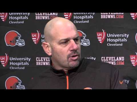 Comments from Mike Pettine after Browns loss to the Panthers