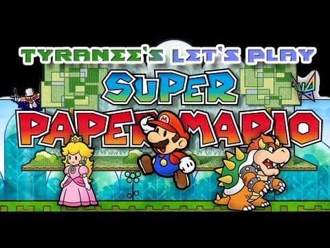 Let's Play Super Paper Mario (blind) Pt 8: Tentacle Rape!! video