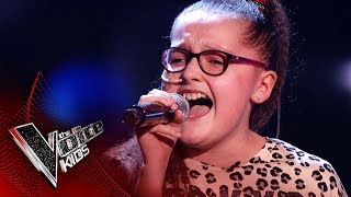 Chloe Performs 'She Used To Be Mine' | Blind Auditions | The Voice Kids UK 2019