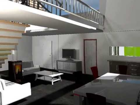 Sweet home 3d render youtube for Sweet home 3d arredamento