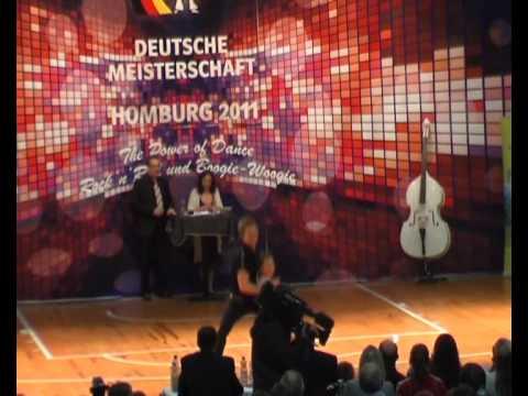 Cathrin Poschenrieder & Felix Schelchshorn - Deutsche Meisterschaft 2011