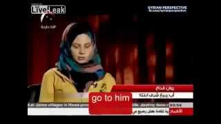 Syrian Girl talks about being forced by father to do sexual jihad for Muslim rebels
