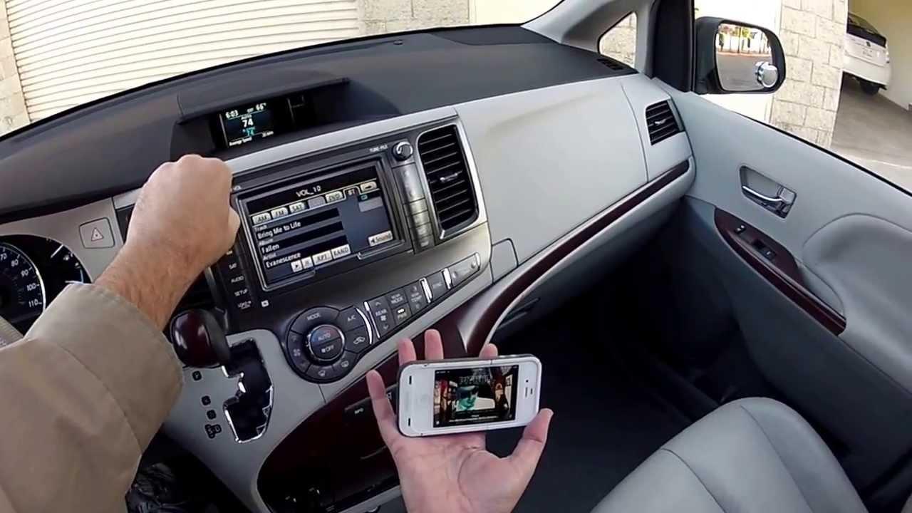 Radio Amp Systems 2011 Toyota Sienna Xle Leather Premium