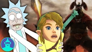 Zelda References in Pop Culture!! Rick & Morty, South Park, The Goldbergs + MORE! | The Leaderboard