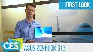 Asus ZenBook S13 Hands-On: Die Alternative zum XPS 13? #CES2019