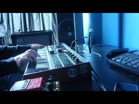 FLUX - BLOC PARTY MicroKORG Cover!
