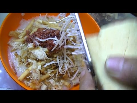 Jakarta Street Food 717 Special In Radio Chicken Porridge Bubur Ayam Khas Radio Dalam BR TiVi 5215
