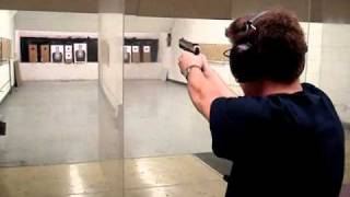 M&P 15-22 and Ruger SR9 9mm range shooting