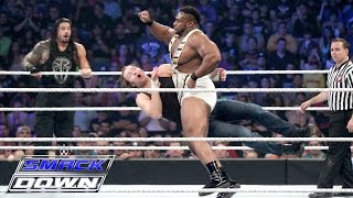 Roman Reigns, Dean Ambrose & Jimmy Uso vs. The New Day: SmackDown – 10. September 2015