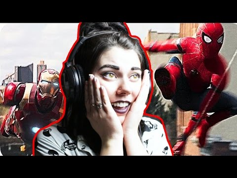 Spider-Man: Homecoming ? TRAILER #2 REACTION