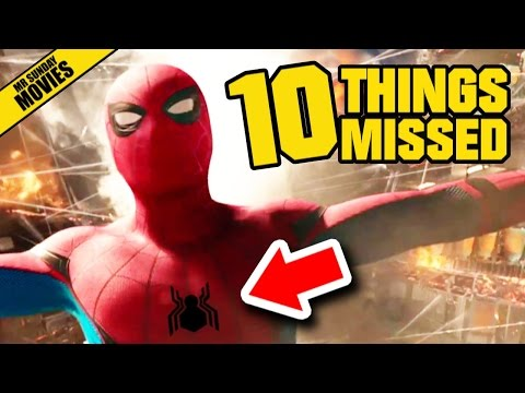 SPIDER MAN: HOMECOMING Trailer 2 - Things Missed & Easter Eggs