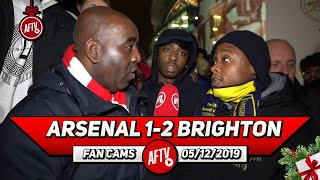 Arsenal 1-2 Brighton | We Need To Sign A Defender In January! (Deluded Gooner)