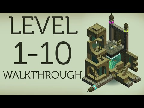 MONUMENT VALLEY Walkthrough All Levels 1-10 + Ending   iOS, Android
