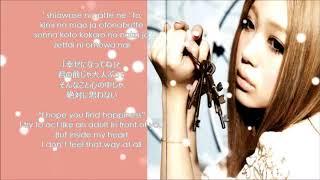 Kana Nishino - Aitakute(Rom+Kanji+Eng Lyrics)