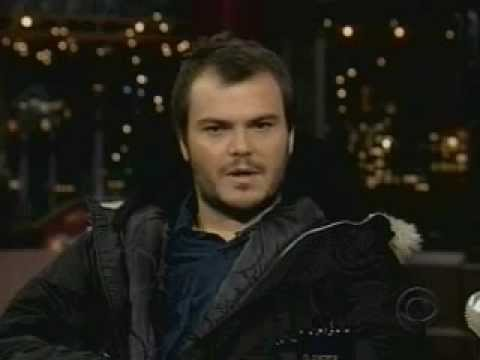 Tenacious d s jack black s promoting saving silverman on letterman 2