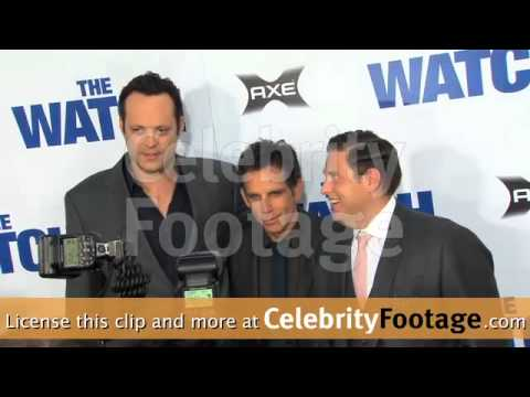 http://www.celebrityfootage.com/ Coverage of the The Watch Premiere in Hollywood, CA, on July 23, 2012.