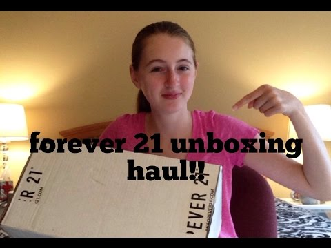 Forever 21 Unboxing Haul!!