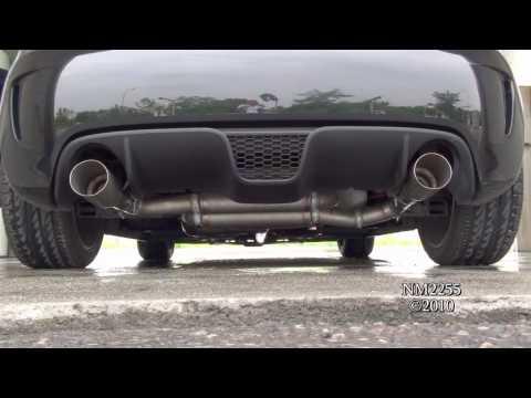 Fiat 500 Abarth with Titanium Exhaust Sound