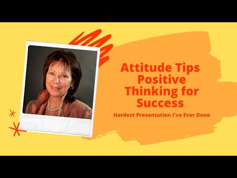 Attitude - Positive thinking creates Success Video