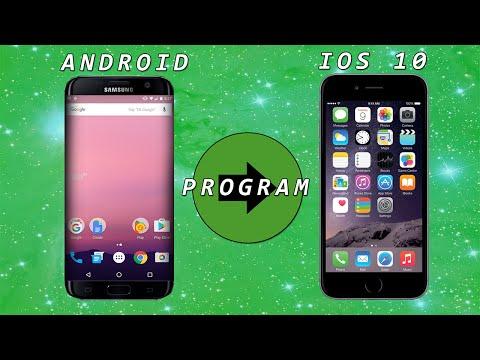 Как сделать телефон андроид айфоном