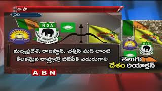 National Political Parties Reaction On TDP Exit From NDA | ABN Telugu