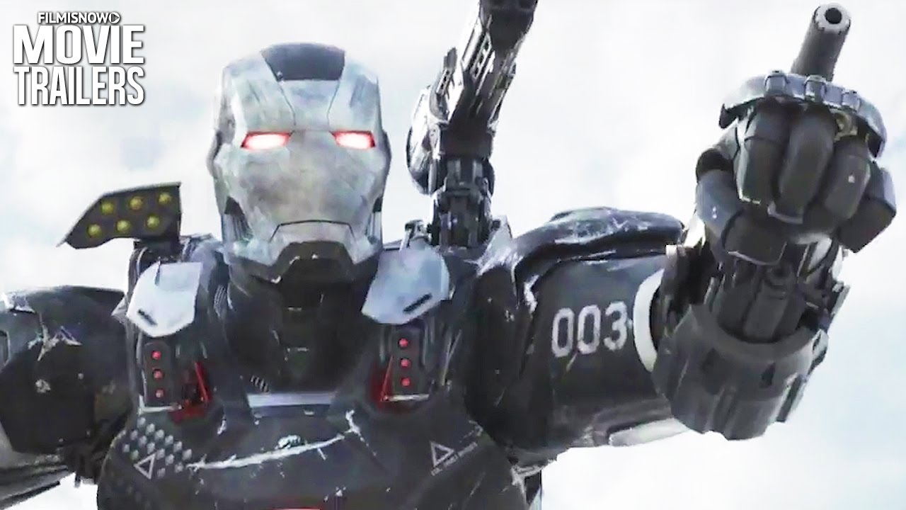 Team Iron Man goes up against Team Cap in NEW Spots for Captain America: Civil War [HD]