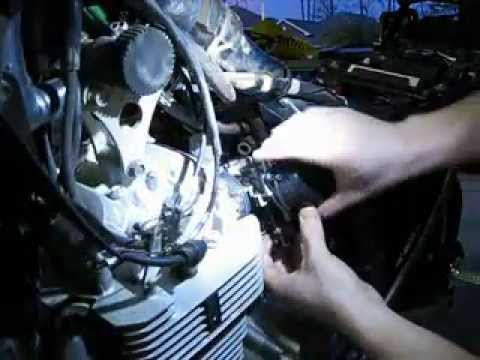 DR650 Carburetor Jetting - carb remains on bike