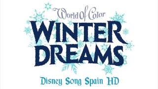 Olaf cantando villancicos | World of Color Winter Dreams