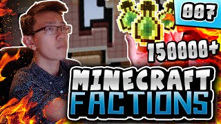 SPENDING 150 000+ XP LEVELS!! | Minecraft COSMIC FACTIONS! #7 (Cosmic PvP Pleb Planet)