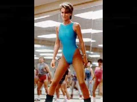 Jamie Lee Curtis Fitness Movie Jamie Lee Curtis Working Out