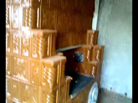 Soba bucatarie 0766332364 youtube for Dedeman sobe teracota cu plita