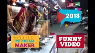 Turkish ice cream maker #402   2018 ★ 7 second of happiness FUNNY Video 😂