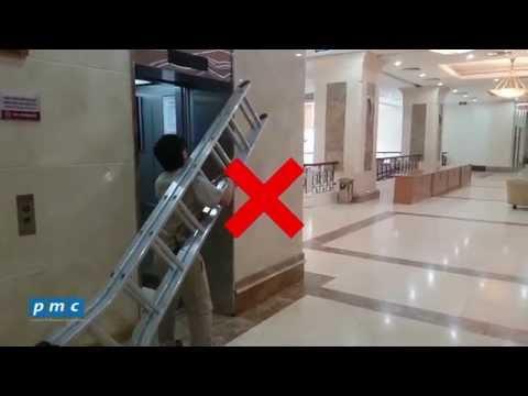 Các lưu ý khi sử dụng thang máy