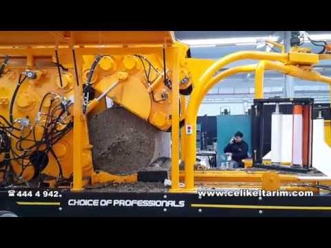 Silaj-Küspe Paketleme Makinası ÇELİKEL