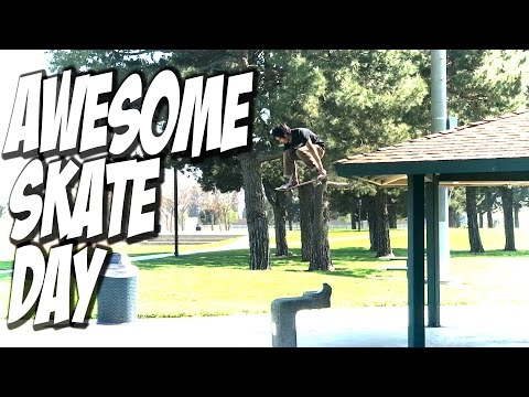 AWESOME SKATE DAY !!! - A DAY WITH NKA -