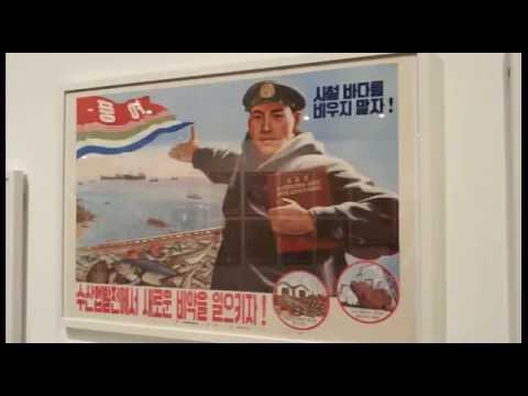 북한 / 북조선 선전화 (Democratic People's Republic of Korea / North Korea Poster) 2