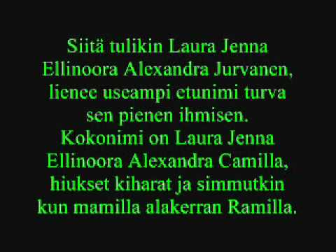 Leevi And The Leavings - Laura Jenna Ellinoora Alexandra