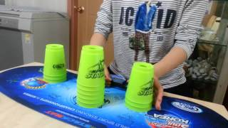 Sport stacking : 333 new record