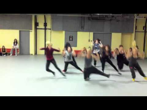 Lady Gaga - JUDAS choreography by Filip and Joelle part I